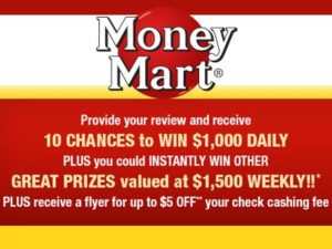Money Mart Customer Survey
