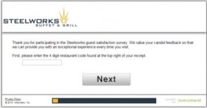 Steelworks Buffet & Grill Survey