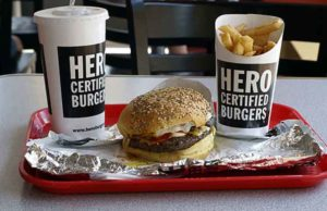 Hero Certified Burger Survey