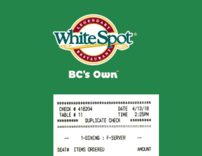 Talk to White Spot Survey
