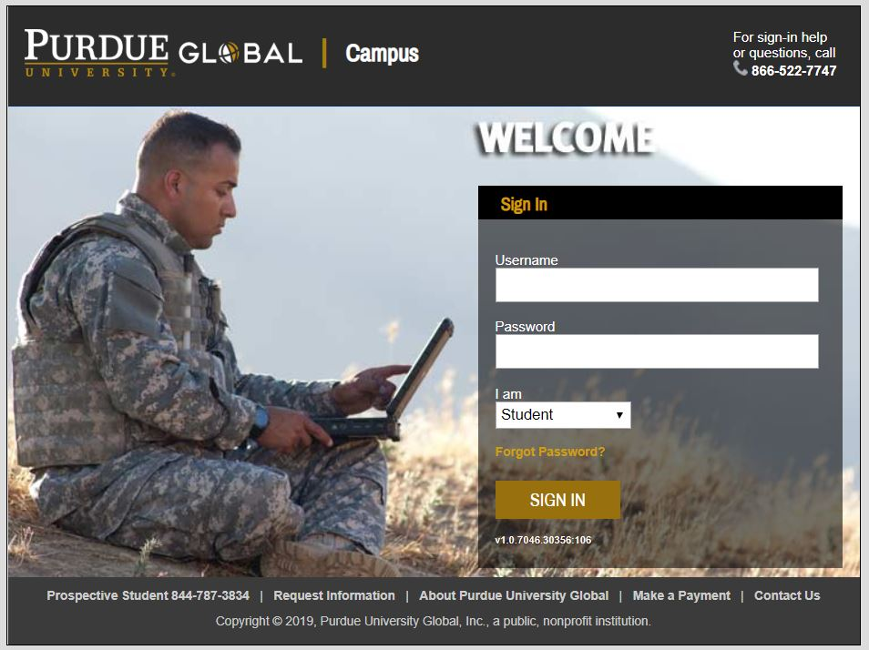 Purdue University Global Login