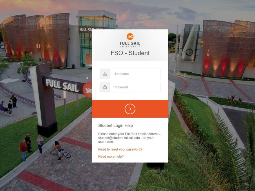 Full Sail University Student Login