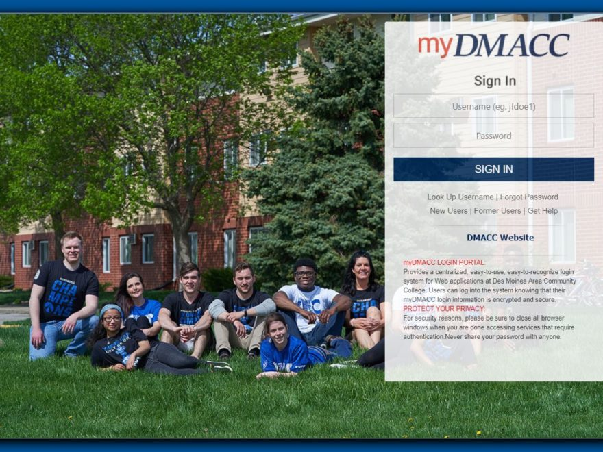 my DMACC Student Login